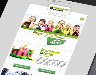 Multiplay | Newsletter Layout