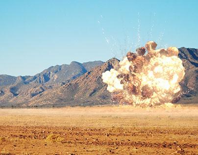 FumeFX explosion high resolution
