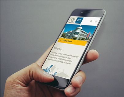 STI Group // Website