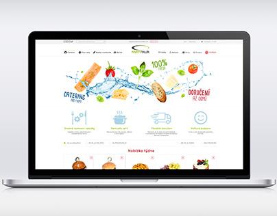 Webdesign - partytalir.cz