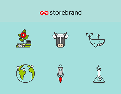 Icons for Storebrand