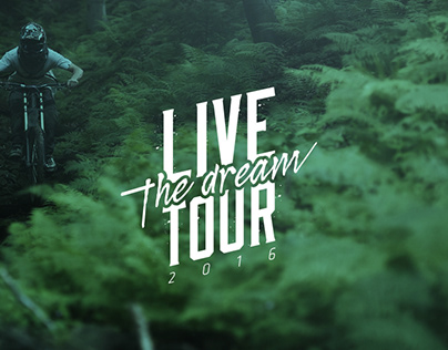 Identité visuelle / Live The Dream Tour