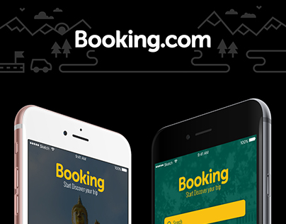Booking App Redesign Concept