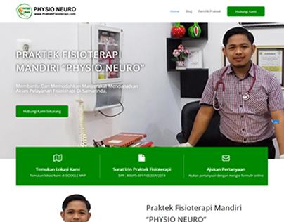 Website Physio Neuro, Praktek Fisioterapi Mandiri Di Sa