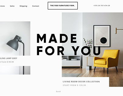 Furniture Firm web design