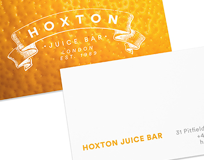 Hoxton Juice Bar