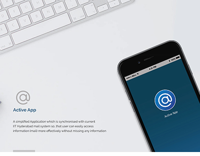 Active App Mobile Application design for IIT Hyderabad
