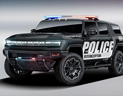 2021 GMC Hummer Police Interceptor