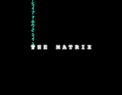 The Matrix Opening Credits