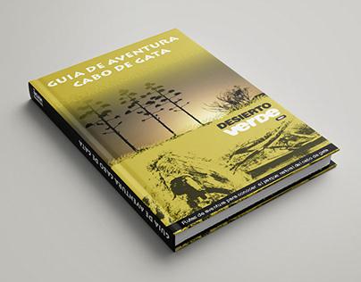 """Diseño Cover - Guía de Aventura """"Cabo de Gata""""."""