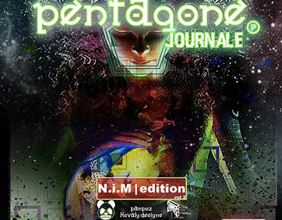 Pentagone Journale 2 magazine spread