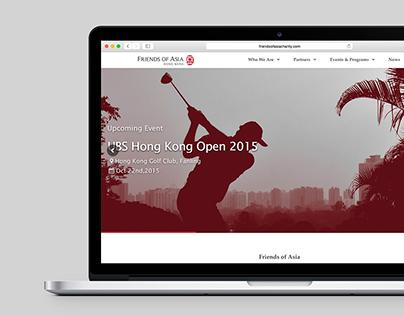 Friends of Asia Responsive Web Design