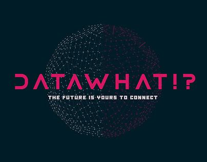 Datawhat?! Logo Design Concepts