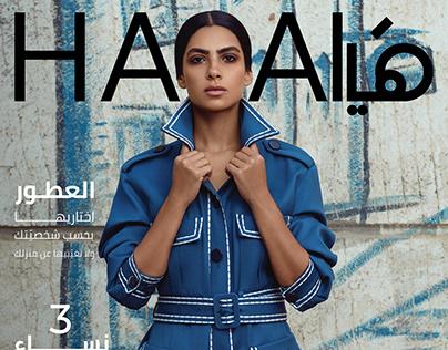 Haya Magazine x FENDI