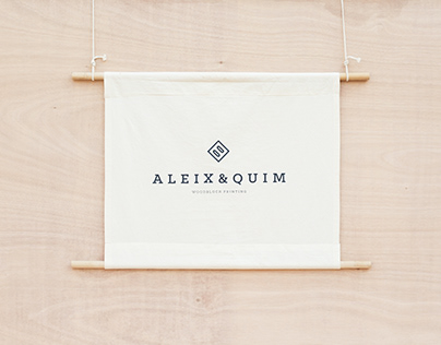 A L E I X & Q U I M - Branding