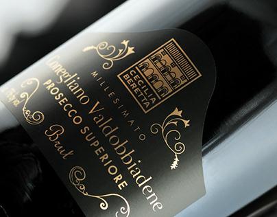 Wine Label, Brochure / Cecilia Beretta