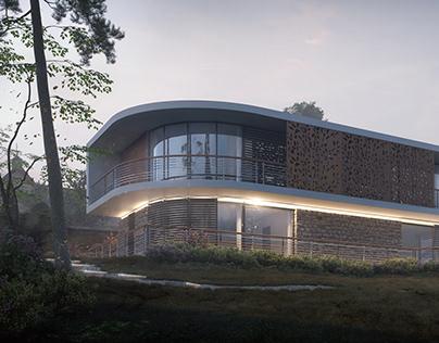 Private villa near lake Balaton