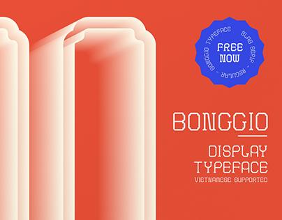 Bong Gio Display/ Free Typeface