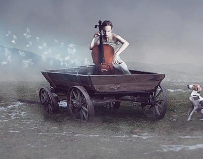 Cello Lady
