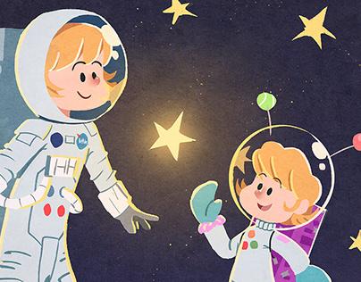 The little Astronaut