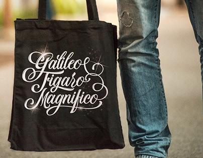 Galileo Figaro Magnifico | Lettering project