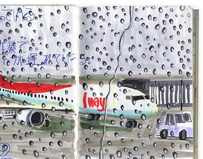 Sketch | travel at Korea