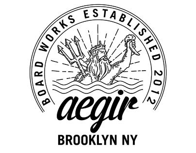 Aegir Boardworks Illustration