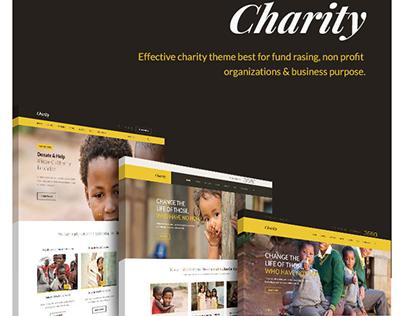 Charity HTML Templates
