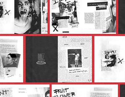 PJ Harvey   Fanzine & Editorial