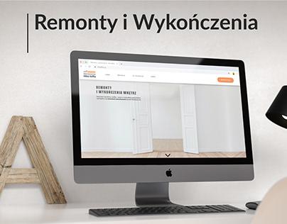 Miłosz Kaffka - Odświeżenie strony www