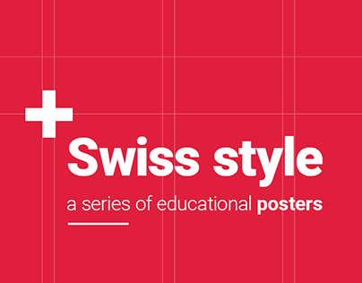 Swiss style pioneers / a series of posters