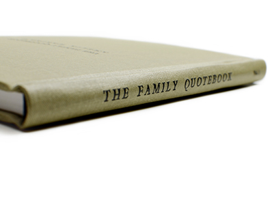 The Family Quotebook