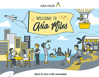 Illustration for Asia Miles