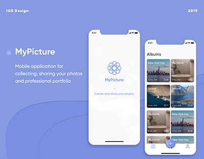 Mobile app for collecting and sharing photos