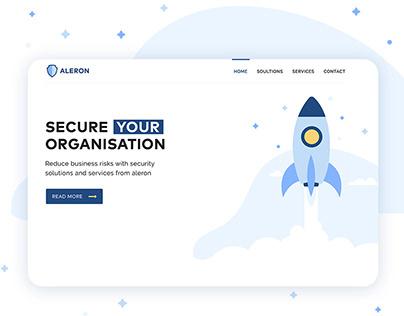 Aleron Security UX/UI Design