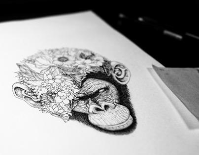 Botanical Ape
