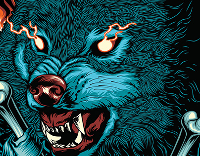 Wolf Angry