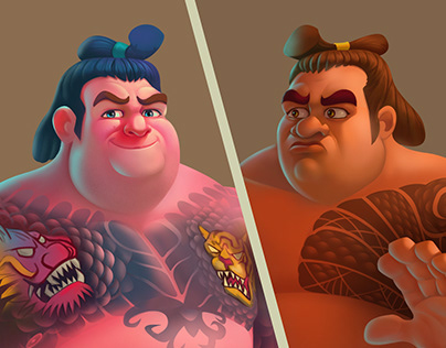 Cool Sumo #Character Design