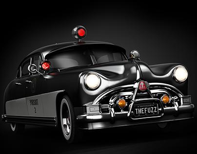 1951 Hudson Hornet Police Cruiser