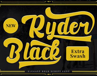 FREE | Black Ryder Bold Script