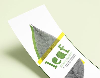 LEAF | Projet triptyque