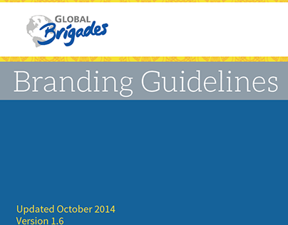 Global Brigades Branding Guidelines