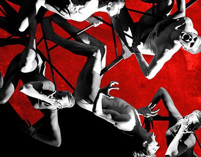 Invitation ticket for St. Petersburg Eifman Ballet