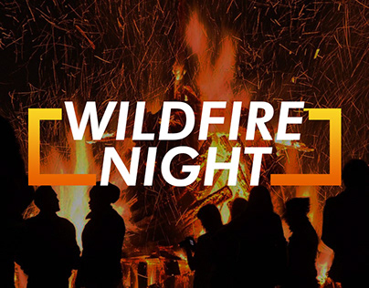 Wildfire night poster