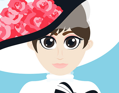 Audrey Hepburn as Eliza Doolittle (My Fair Lady)