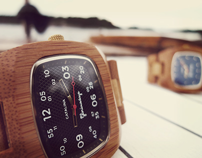 Catalina & Clipper Bamboo Watches
