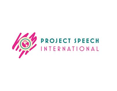 Project Speech International Logo Design