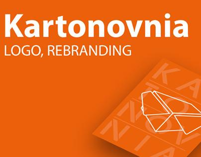 Kartonovnia rebranding, projekt logo