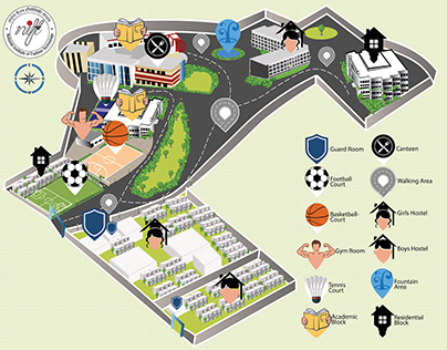 way finding map