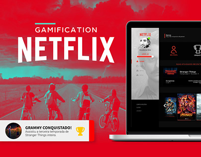 Netflix Gamification | UX&UI Project
